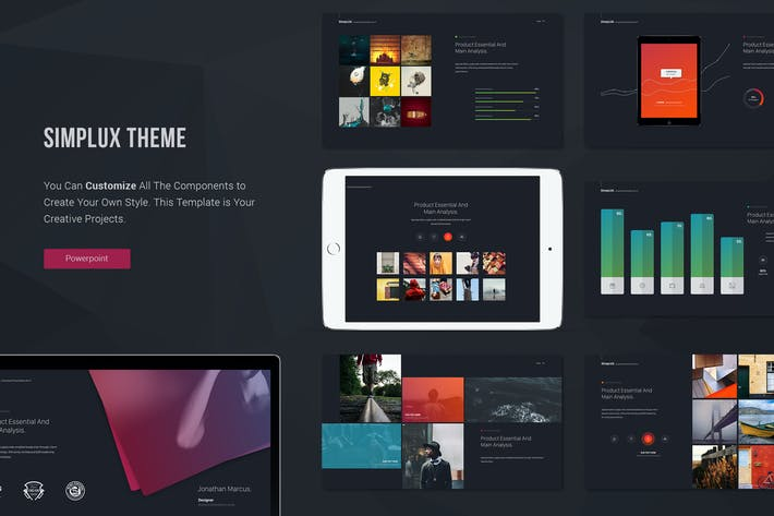 Simplux Multipurpose Powerpoint Template By Simplesmart On Envato