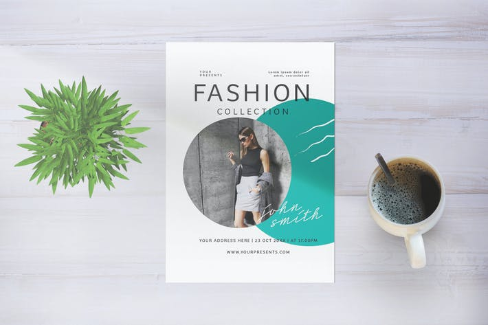 Thumbnail for Fashion Collection Flyer
