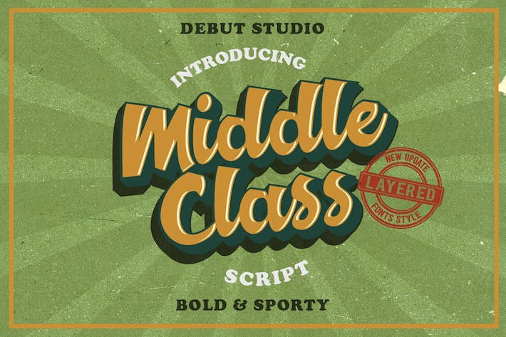 Cover Image For Middle Class Script