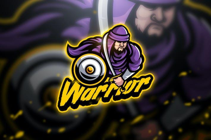 Thumbnail for Warrior Holy - Mascot & Esport Logo
