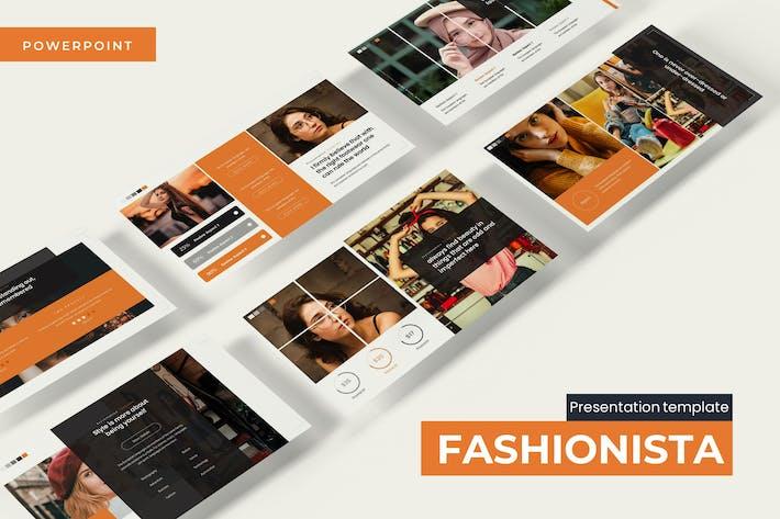 Fashionista - Powerpoint Template