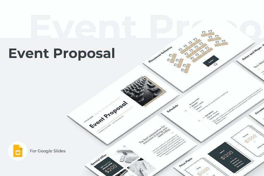Event Proposal Google Slides Template