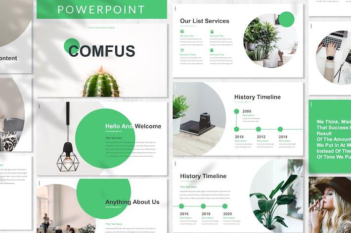 Thumbnail for Comfus - Растения Powerpoint Шаблон