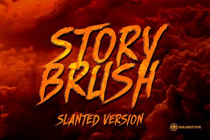Thumbnail for Story Brush Slanted