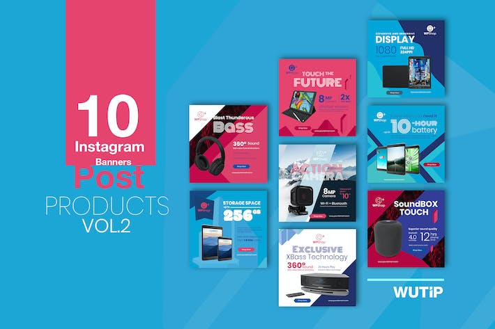 Thumbnail for 10 Instagram Post Banner-Products Vol2