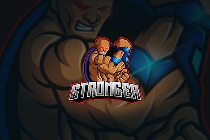 Stronger - Mascot & Esport Logo