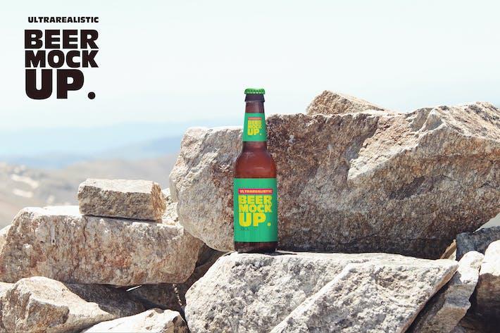 Thumbnail for Stone Nature Beer Mockup Vol.3