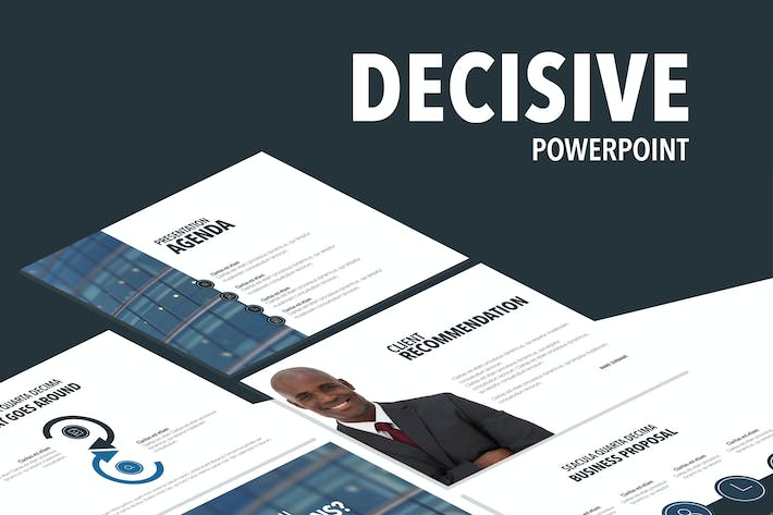 Thumbnail for Decisive PowerPoint Template
