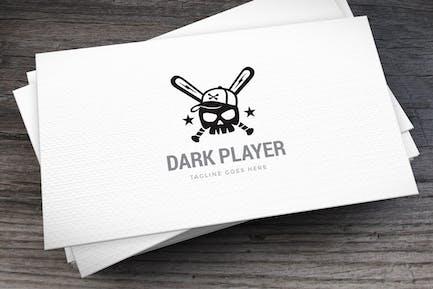 Dark Player Logo Template