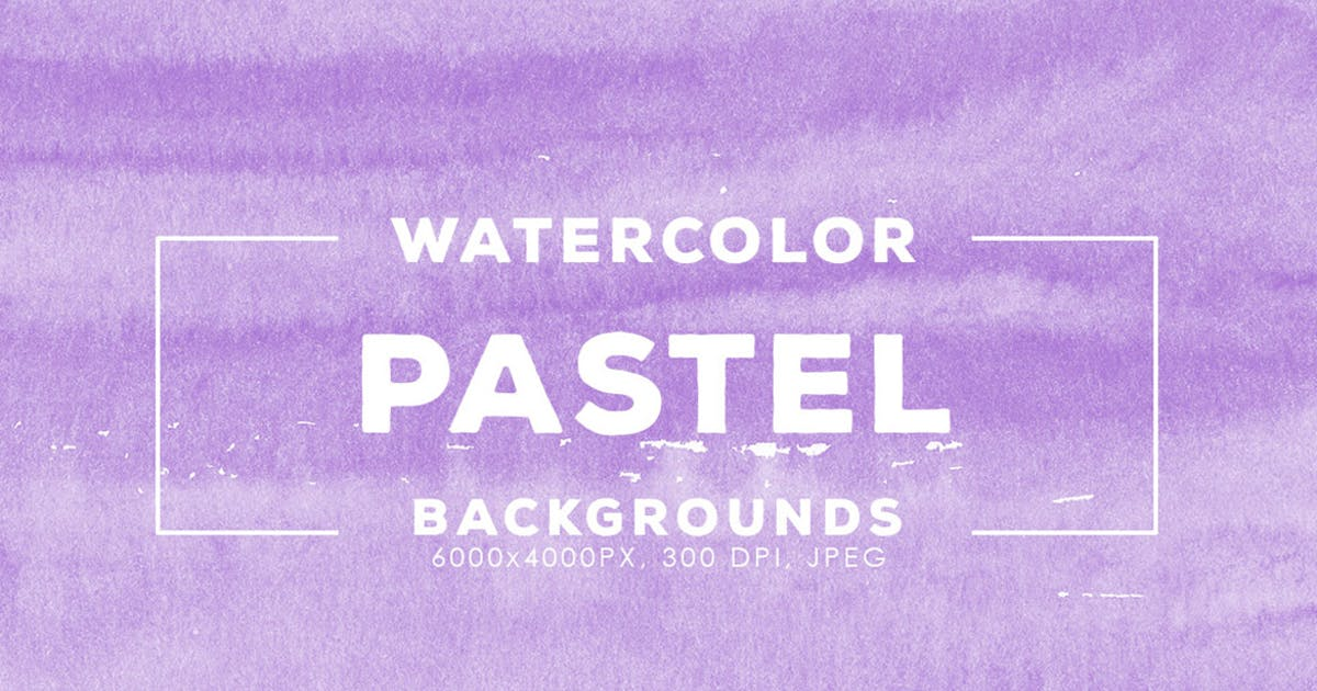 Download 30 Pastel Watercolor Backgrounds by M-e-f