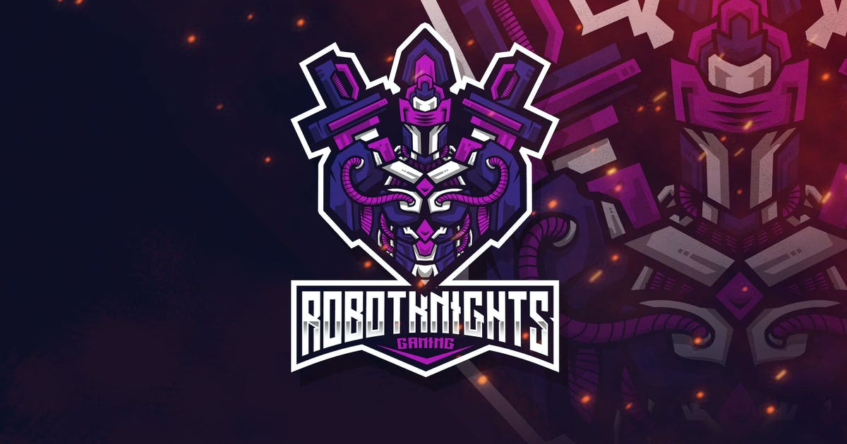 Download Robot Knight Esport Logo Template by StringLabs