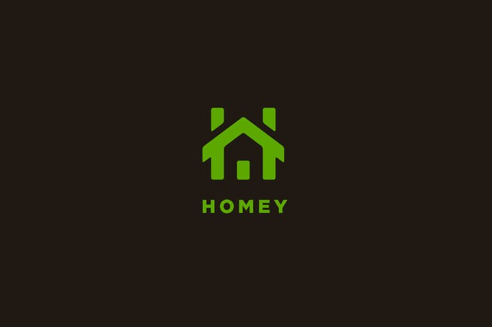 Thumbnail for Homey - Letter H Logo