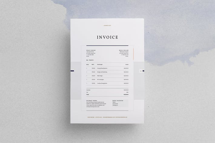 Thumbnail for Design Invoice