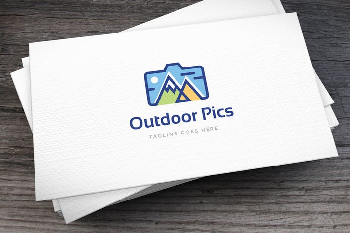 Thumbnail for Outdoor Pics Logo Template