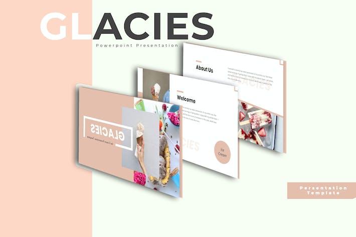 Thumbnail for Glies - Шаблон Keynote мороженого