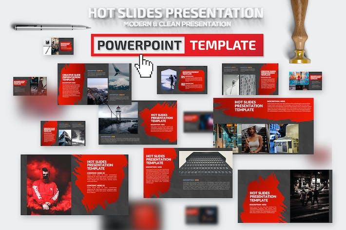 Thumbnail for Горячие слайды Powerpoint