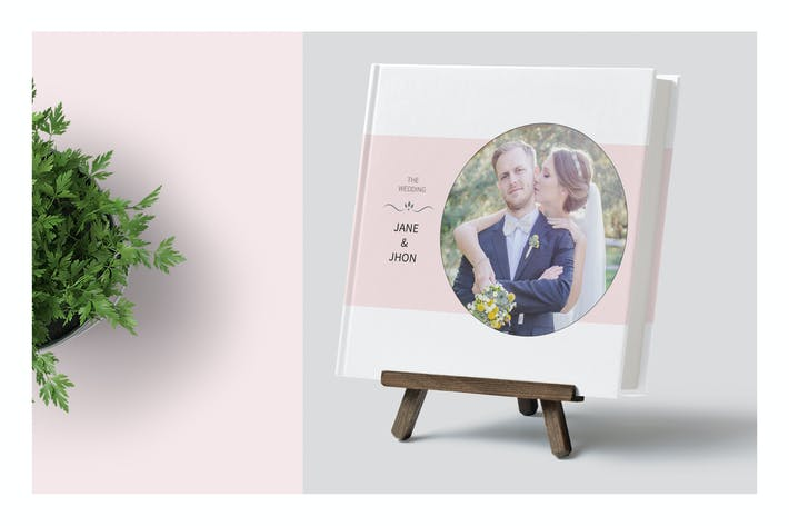 Thumbnail for Wedding Photo Album Template