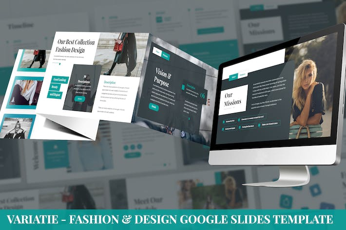Thumbnail for Variatie - Fashion & Design Google Slides Template