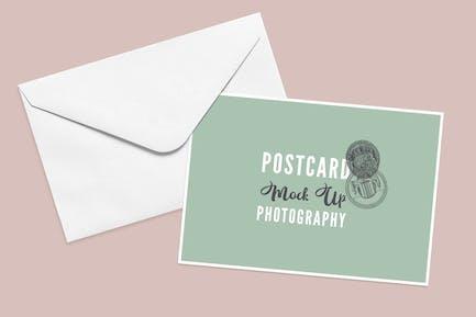 Postcard Mock Up