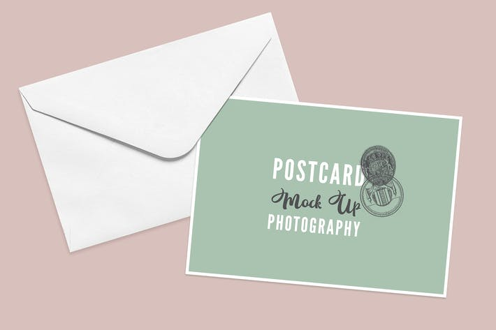 Cover Image For Postcard Mock Up