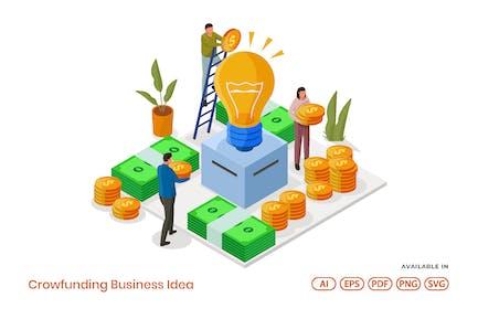 Crowdfunding Business Idea