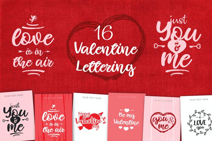 Thumbnail for Valentine's Day Lettering