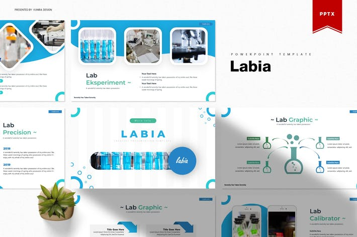 Thumbnail for Labia | Powerpoint Template