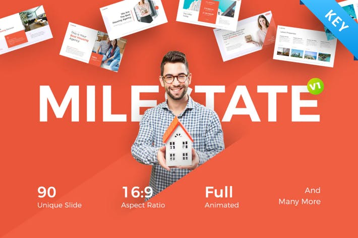Milestate Real Estate Keynote Template