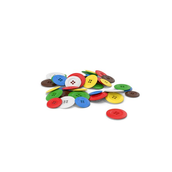 Pile Of Cloth Buttons