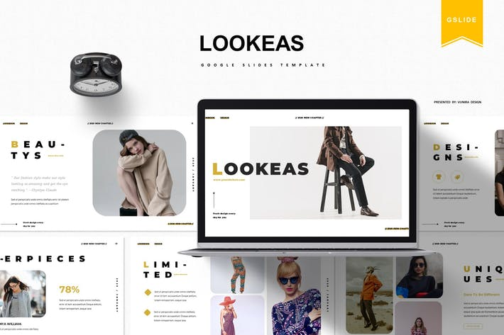 Thumbnail for Lookeas | Google Slides Template
