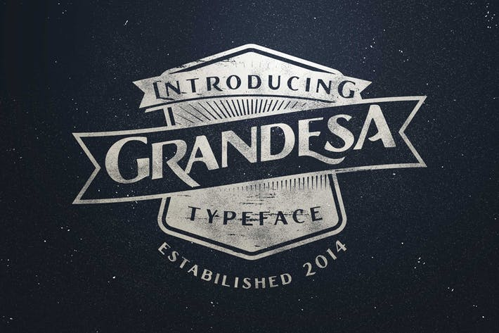 Thumbnail for Grandesa Typeface
