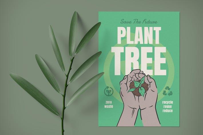 Thumbnail for Plant Arbre Go Green dépliant