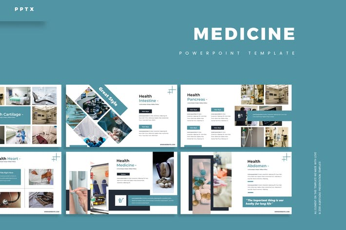 Thumbnail for Medicine - Powerpoint Template