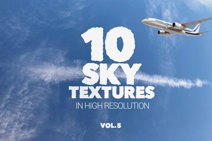 Thumbnail for Sky Textures x10 Vol 5