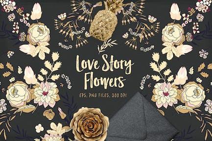 Love Story Blumen