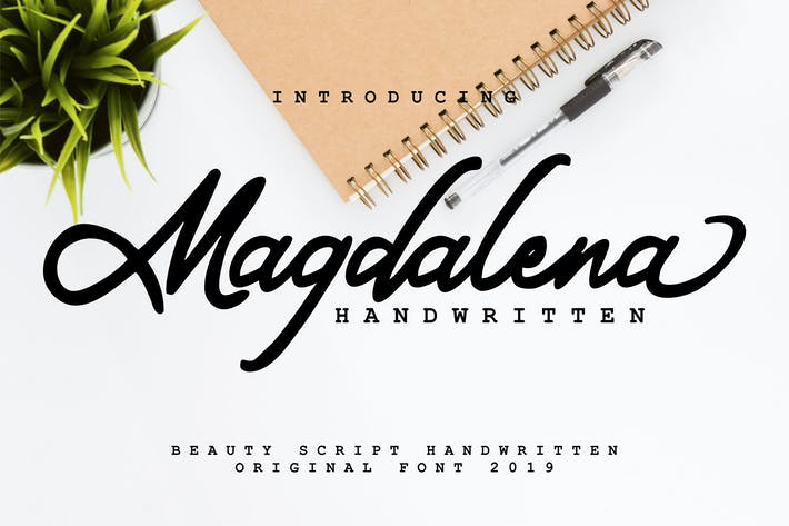 Thumbnail for Magdalena | Beauty Script Handwritten
