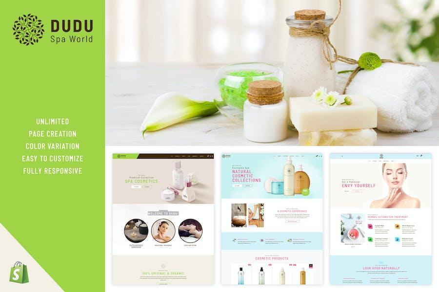 DUDU Cosmetics - Shopify Cosmetics Theme