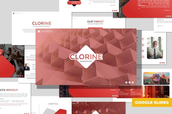 Clorine - Многоцелевой Шаблон Google Sildes
