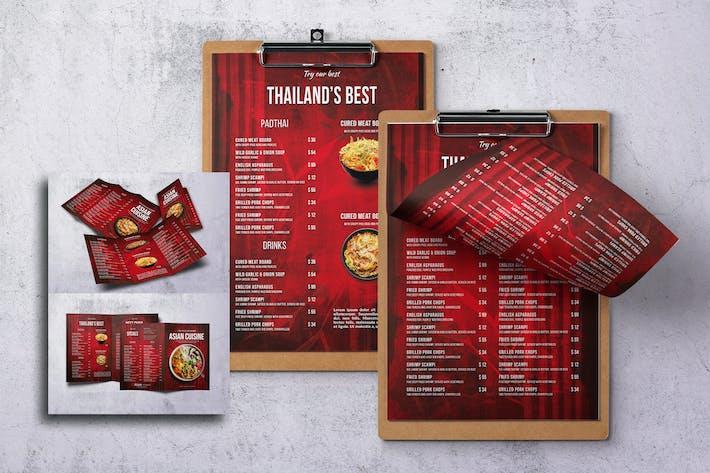 Thumbnail for Asian Cuisine Food Menu Bundle