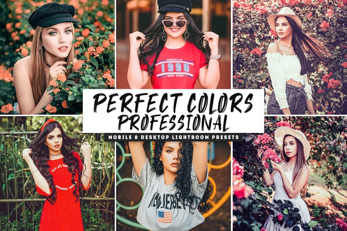 Thumbnail for Perfect Colors Mobile & Desktop Lightroom Presets
