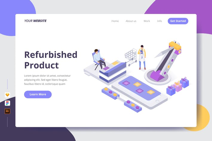 Thumbnail for Refurbished Product - Landing Page