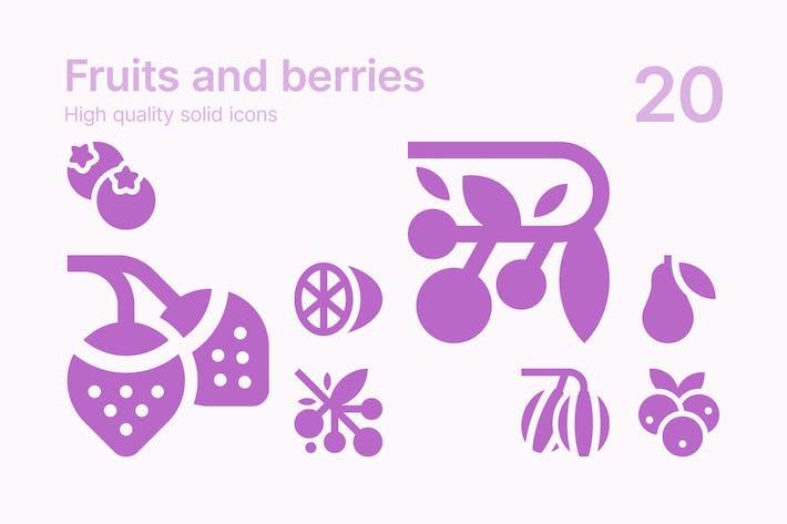 Thumbnail for Früchte und Beeren Icons
