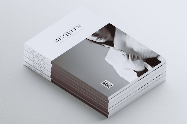 Cover Image For MISQUEEN // Minimal Magazine Styles