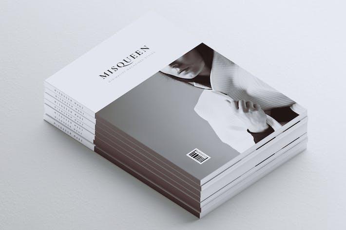 Thumbnail for MISQUEEN // Minimal Magazine Styles