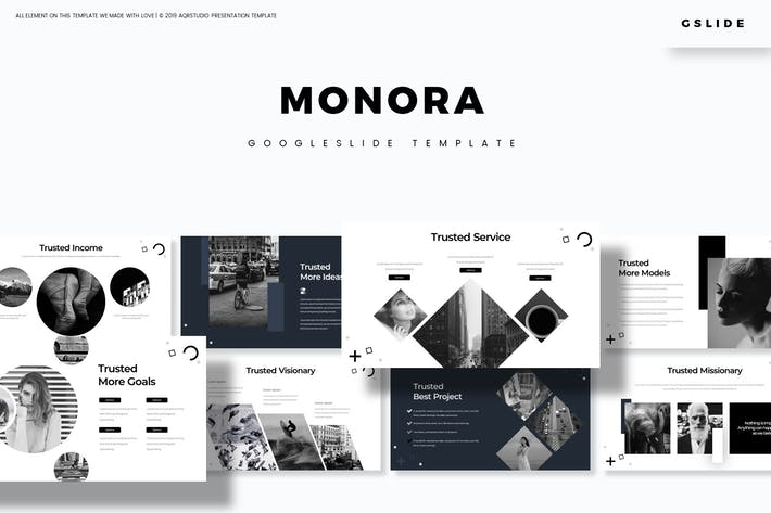 Thumbnail for Monora  - Google Slides Template
