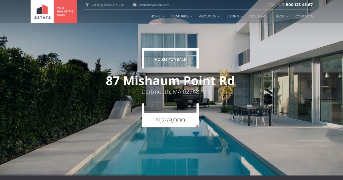 Download Estate - Property Sales & Rental WP Theme + RTL by axiomthemes