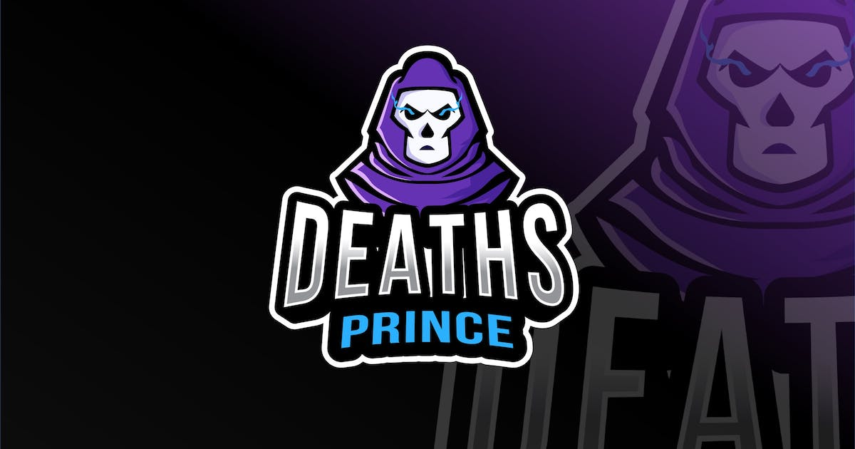 Download Deaths Prince Esport Logo Template by IanMikraz