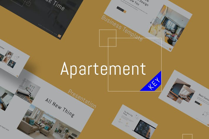 Thumbnail for Apartment - Business Keynote Template