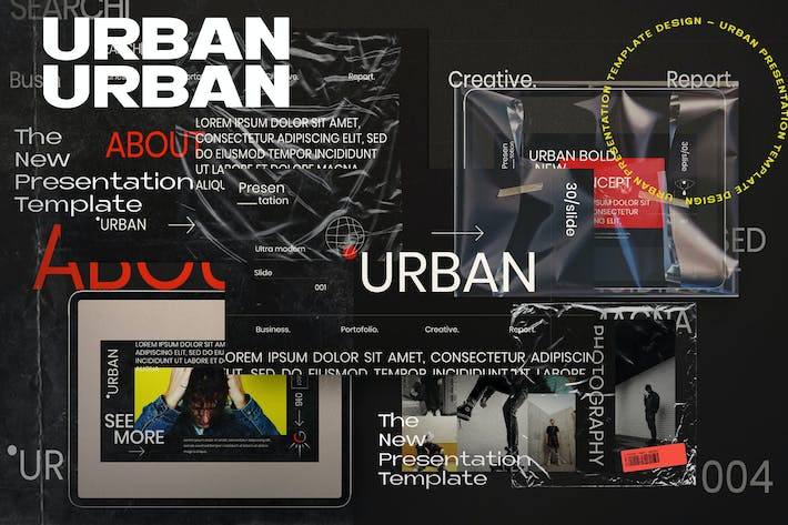 Thumbnail for Urban - Creative Business Powerpoint