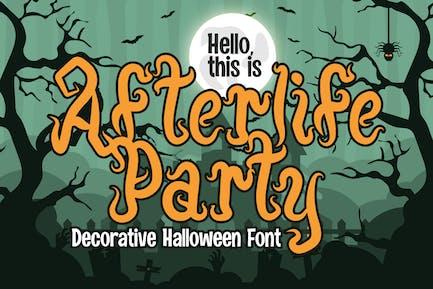 Afterlife Party - Fuente de Halloween